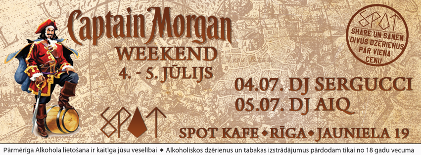 Captain Morgan Weekend