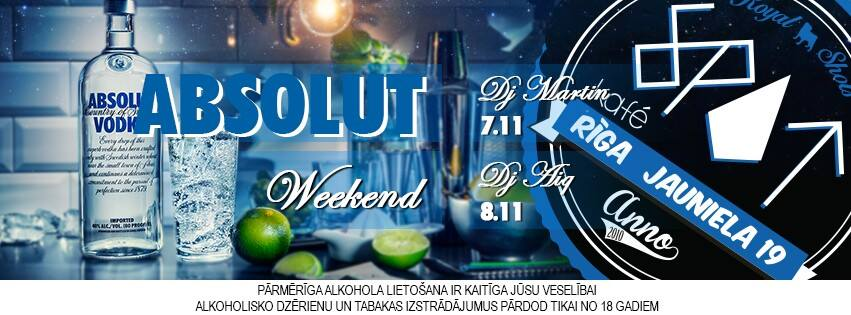 Absolut Weekend
