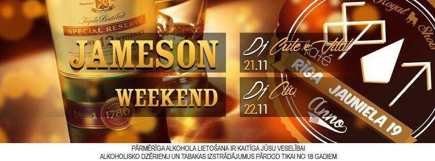 jameson weekend