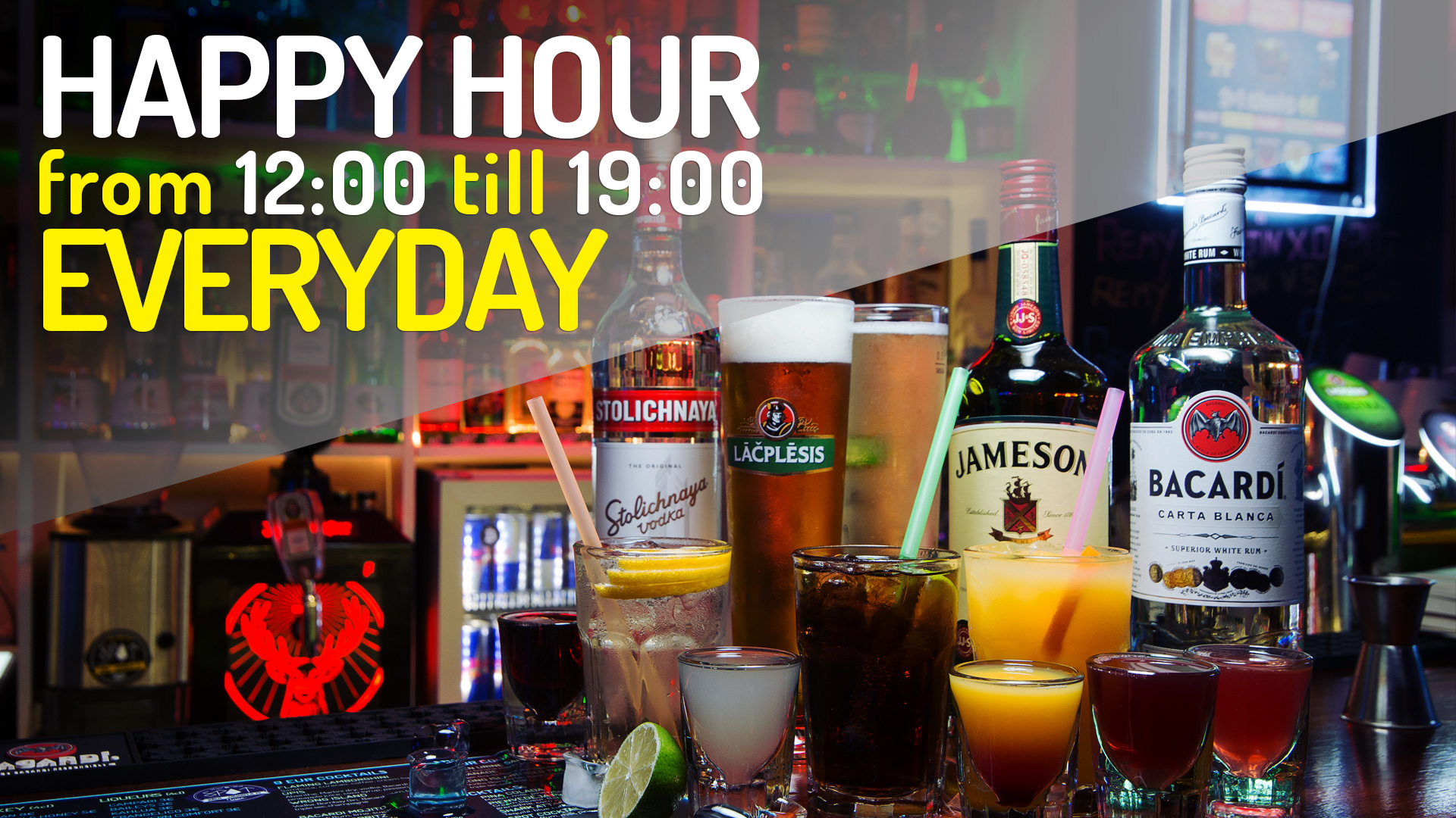 All-Day Happy Hour in Riga