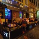 Spot Kafe Riga Night Terrace