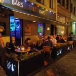 Spot Kafe Riga Night Terrace